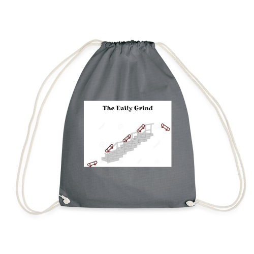 The Daily Grind - Drawstring Bag
