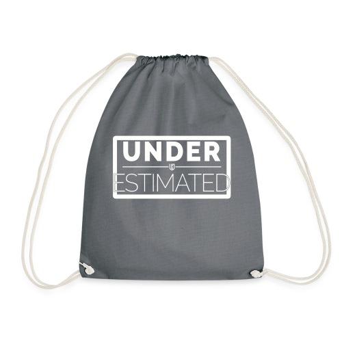 Under Estimated Logo W - Drawstring Bag