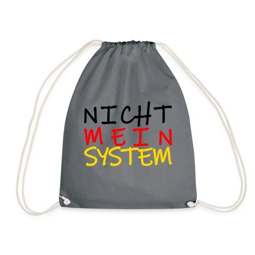 NICHT MEIN SYSTEM - Turnbeutel