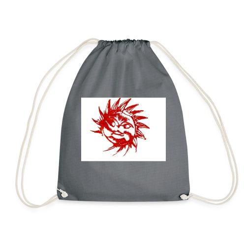 A RED SUN - Drawstring Bag