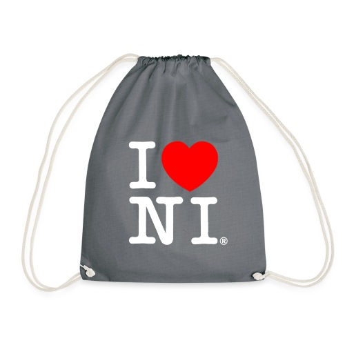 I love NI - Drawstring Bag