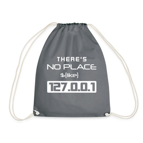 There is no place like 127.0.0.1 - Mochila saco