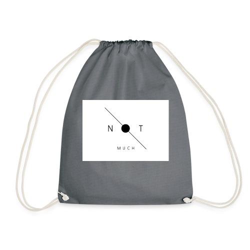 not much WHITE jpg - Drawstring Bag