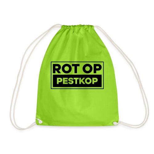 Rot Op Pestkop - Block Black - Gymtas