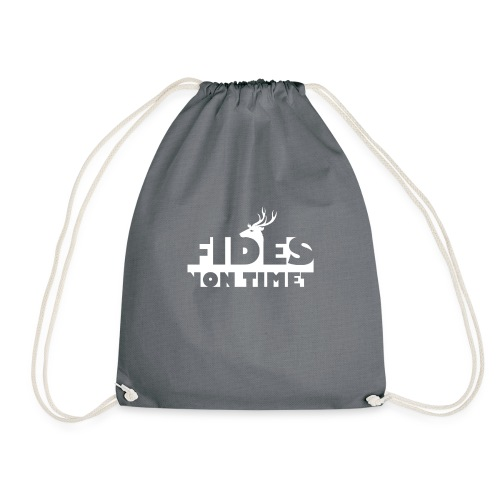 Fides Non Timet - Drawstring Bag