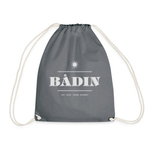Bådin - white - Gymbag