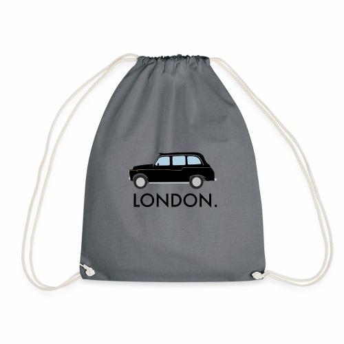 Black Cab - Drawstring Bag