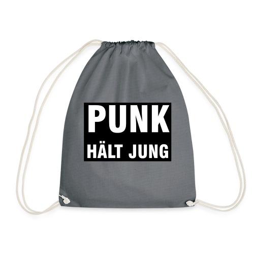 Punk hält jung - Turnbeutel