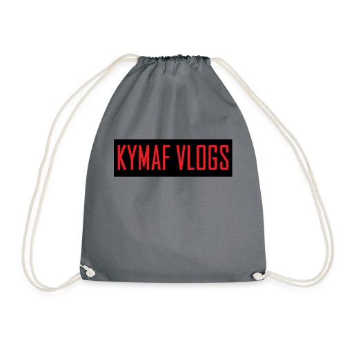 Original Kymaf Vlogs Shirt - Drawstring Bag
