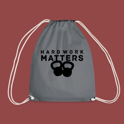 hardworkmatters - Gymtas