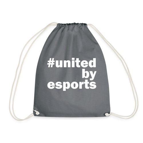 United By Esports weiß - Turnbeutel