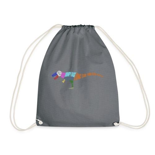 DINOSAUR - Drawstring Bag