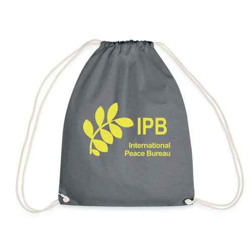 International Peace Bureau IPB Logo - Drawstring Bag