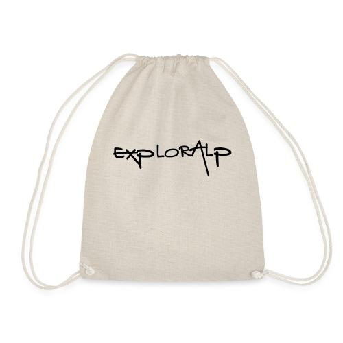exploralp test oriz - Drawstring Bag
