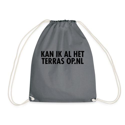 Kan ik al het terras op.nl - Gymtas