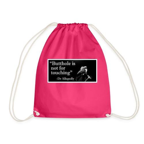 Dr Allegedly's Sage Medical Advice - Drawstring Bag