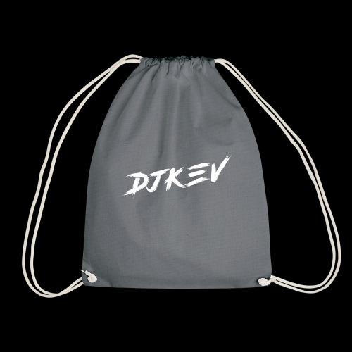 DJKEV Logo white - Sac de sport léger