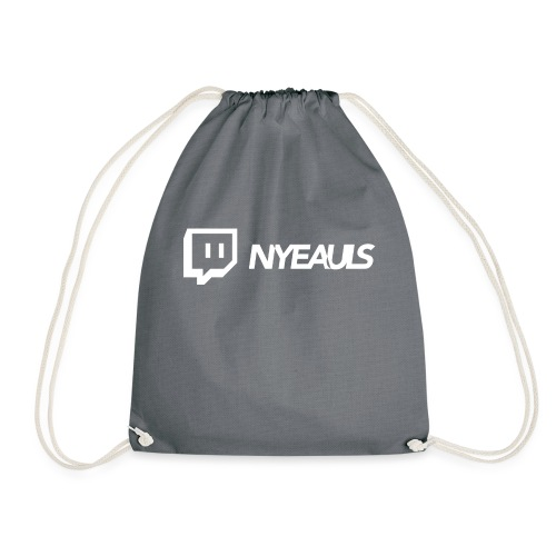 nyeauls twitch white png - Gymtas