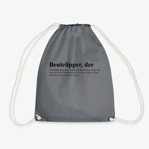Beutelipper - Wörterbuch - Turnbeutel