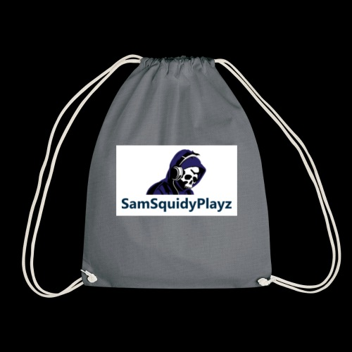 SamSquidyplayz skeleton - Drawstring Bag
