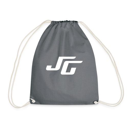 JG Logo weiss - Turnbeutel