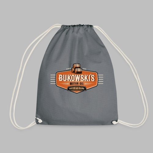 Bukowski's Motor Oil - Turnbeutel