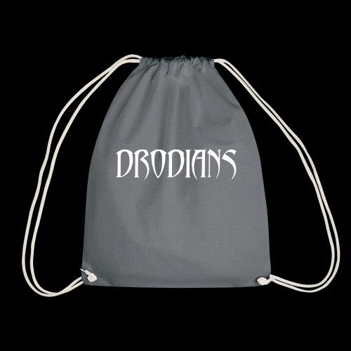 DRODIANS WHITE - Drawstring Bag