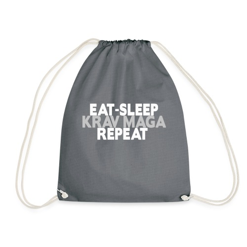 EAT SLEEP KRAV MAGA REPEAT - Drawstring Bag
