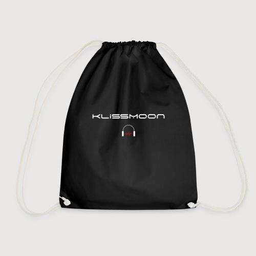 Klissmoon Logo white - Drawstring Bag