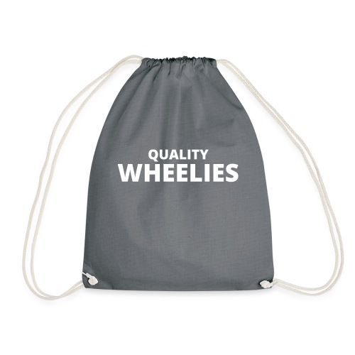 Quality Wheelies Hoodie Front - Gymbag