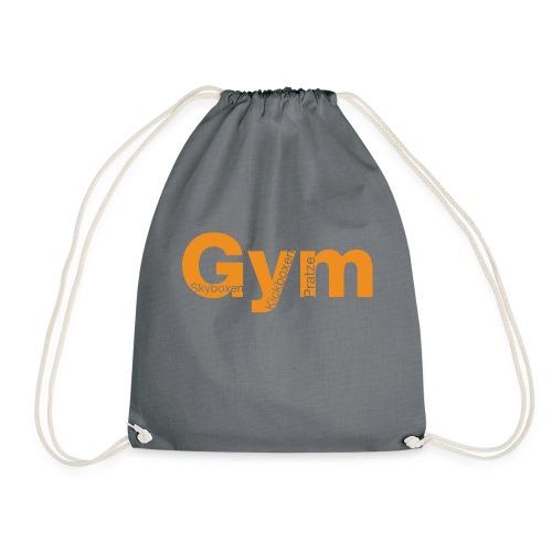 Gym orange - Turnbeutel