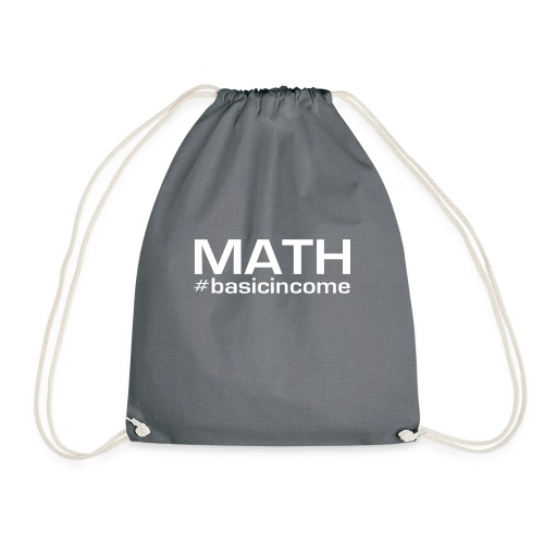 math white - Gymtas