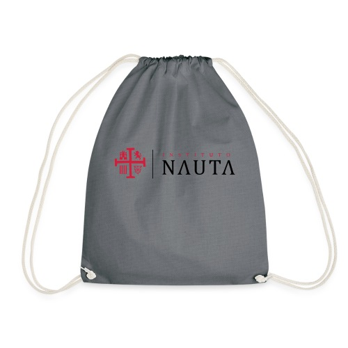 Logotipo Instituto NAUTA - Mochila saco