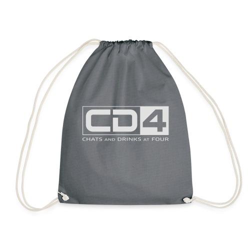 cd4 logo dikker kader bold font - Gymtas