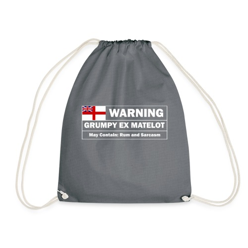 Grumpy Ex-matelot - Drawstring Bag