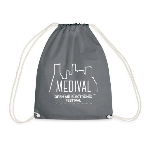 Medival Skyline weiß - Turnbeutel