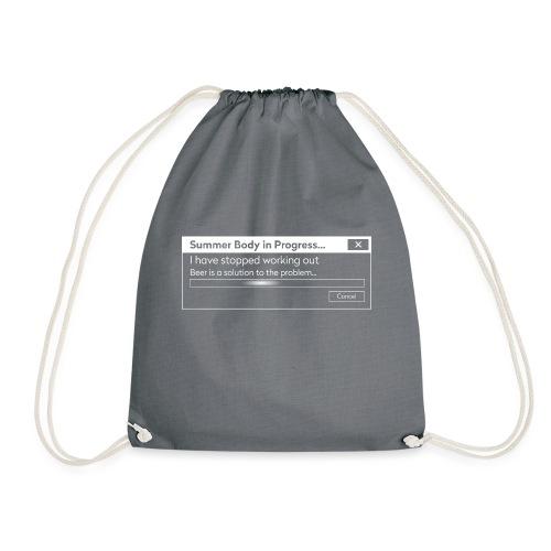 Workout Error - Drawstring Bag