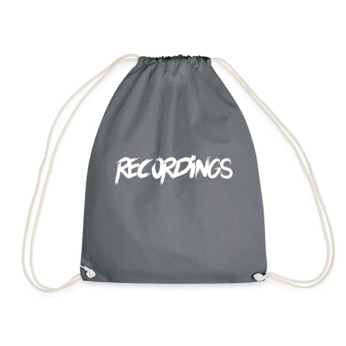 recordings white - Gymtas