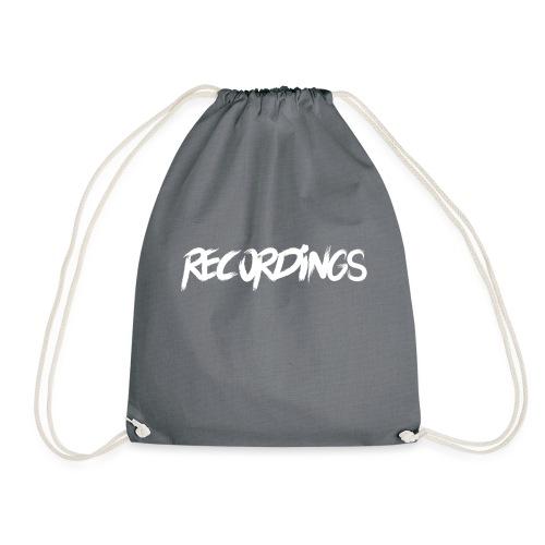 recordings white - Gymtas
