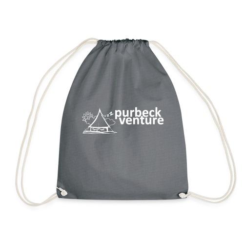 Purbeck Venture Sleepy white - Drawstring Bag