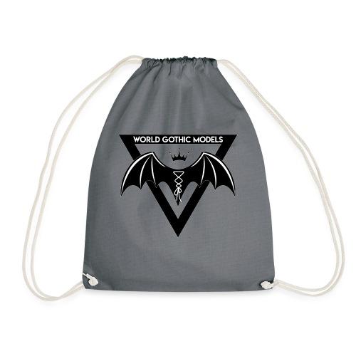 World Gothic Models Official Logo Design - Drawstring Bag