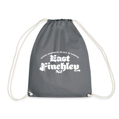 East Finchley Blackletter - Drawstring Bag