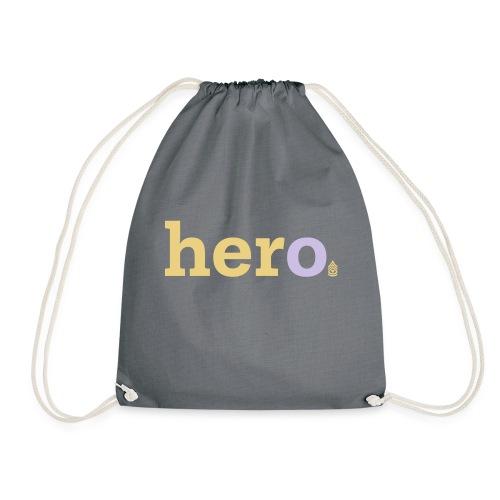 her o - Drawstring Bag