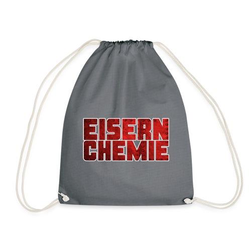 Eiserner Chemie Script Metalloptik - Turnbeutel