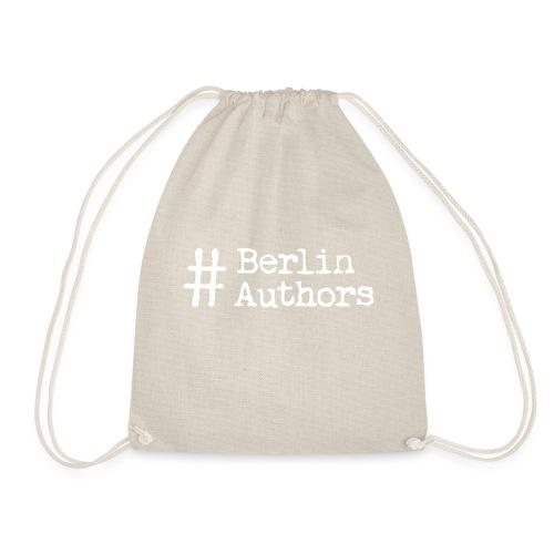 BerlinAuthors Logo Weiß - Turnbeutel