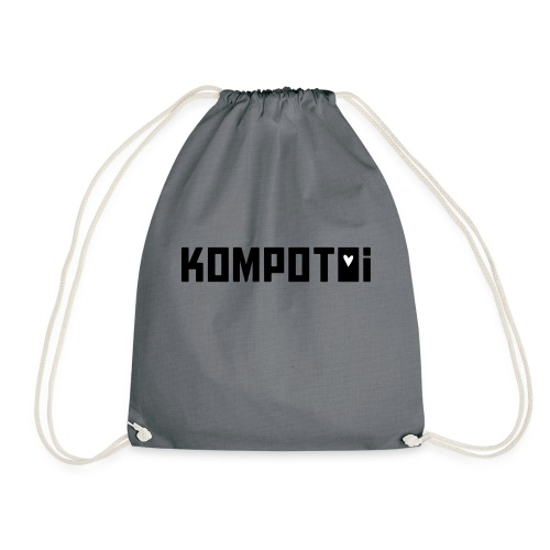 kompotoi black - Turnbeutel