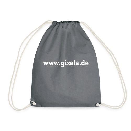 GIZELA web white - Turnbeutel