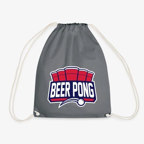 Beer Pong Logo IX - Turnbeutel
