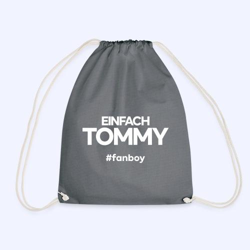 Einfach Tommy / #fanboy / White Font - Turnbeutel