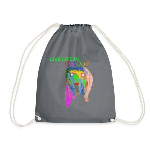 Live Colour - Drawstring Bag